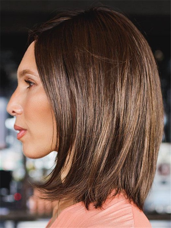 Straight Flirt Synthetic Lace Front Wig For Women