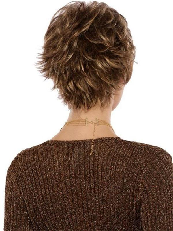 Short Straight Heidi Synthetic Wig Basic Cap For Women
