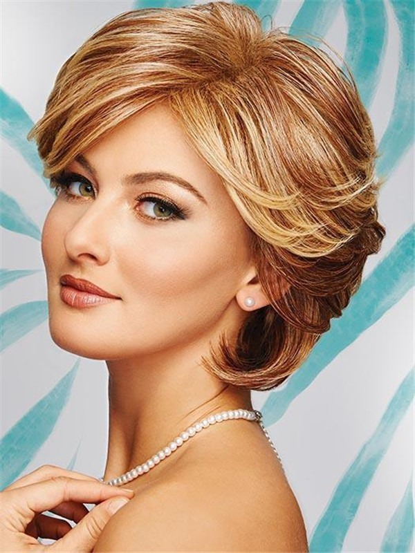 Short Integrity Synthetic Wig Basic Cap For Women