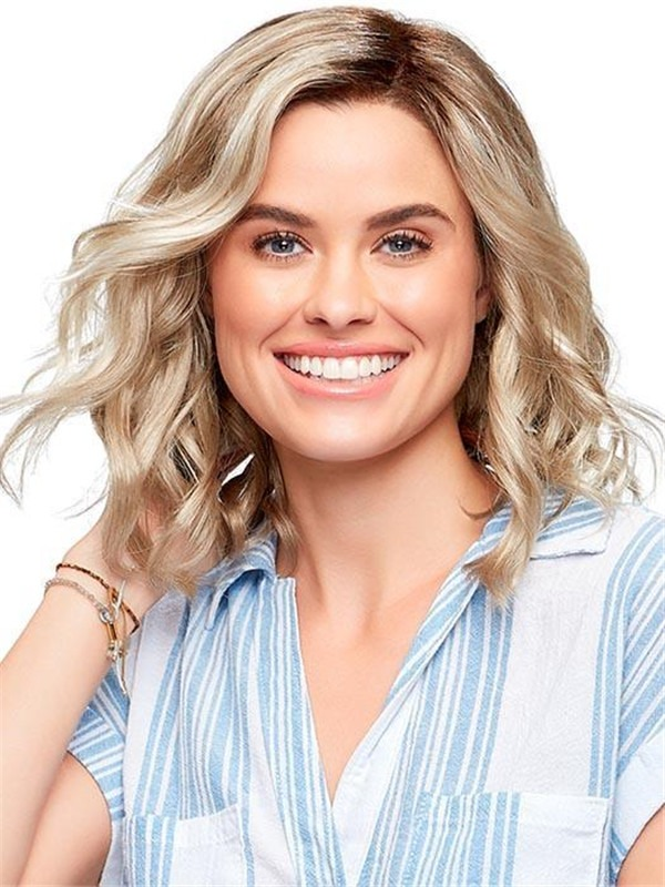 Mid-length Julianne Synthetic Lace Front Wig For Women