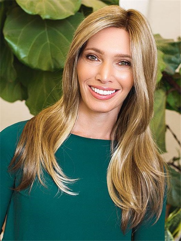 Long Rooted Kaia Synthetic Lace Front Wig For Women
