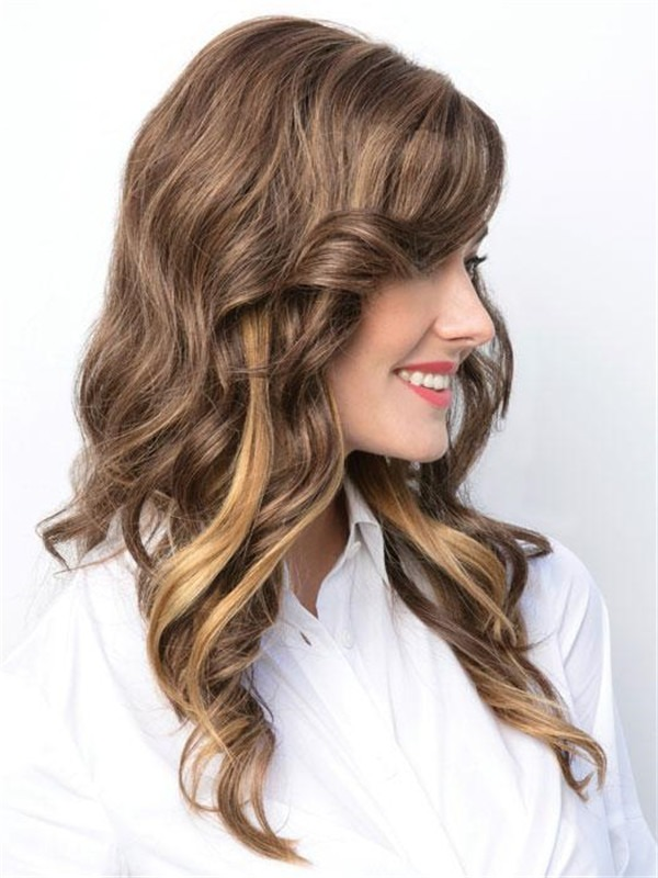 Rooted Synthetic Lace Front Top Piece Half