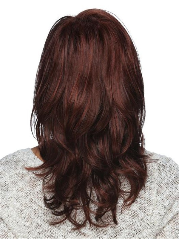 Rooted Synthetic Lace Front Wig Basic Cap For Women