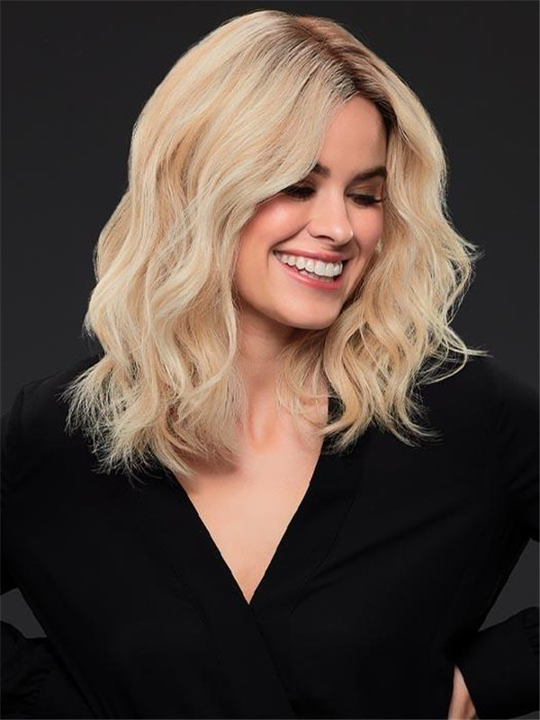 Straight Margot Human Hair Lace Front Wig For Women
