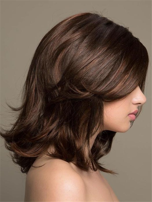 Long Minka Synthetic Lace Front Wig Rooted For Women