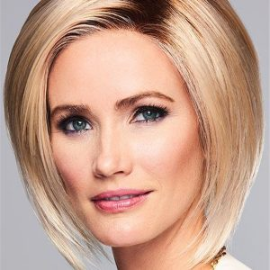 Straight On Edge Synthetic Lace Front Wig For Women