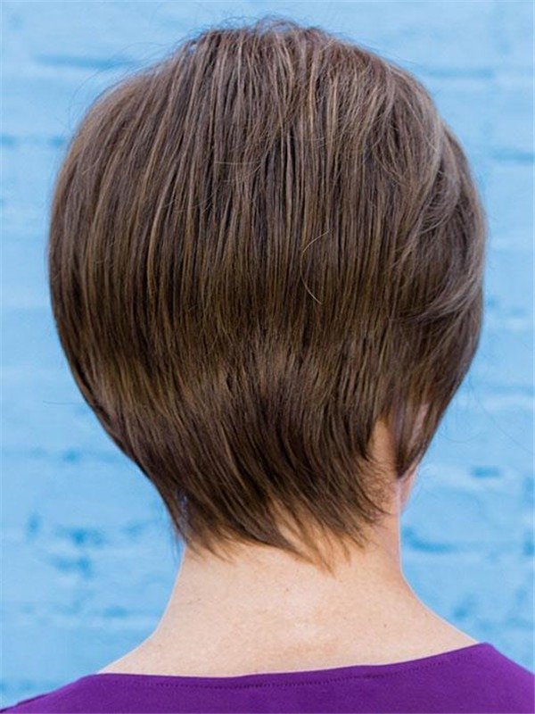 Short Your Game Synthetic Lace Front Wig Rooted