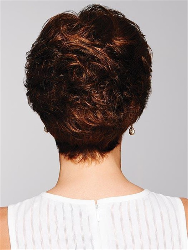 Short Pixie Synthetic Wig Basic Cap For Women