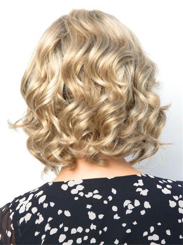 Curly Reign Synthetic Lace Front Wig For Women