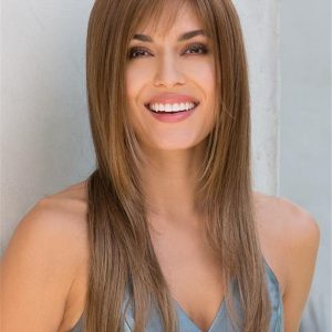 Long Robin Gradient Synthetic Wig Basic Cap For Women