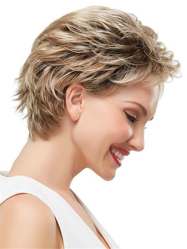 Short Rooted Robin Petite Synthetic Wig For Women