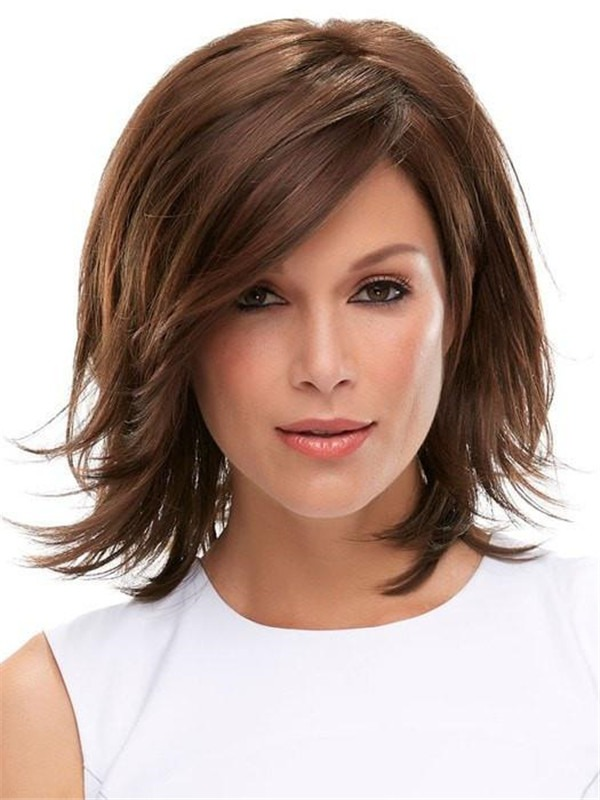 Rooted Rosie Synthetic Lace Front Wig For Women