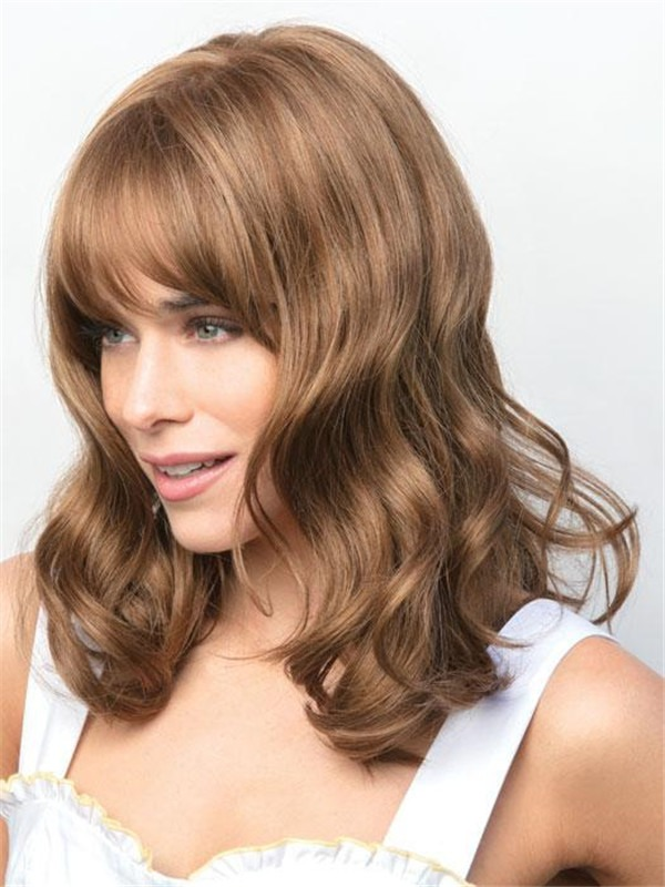 Colored Synthetic Lace Front Wig For Women