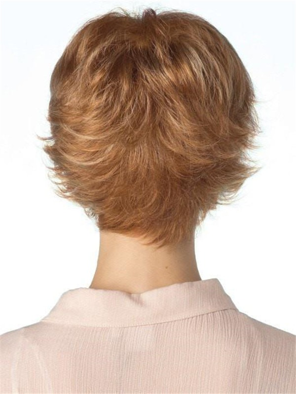 Short Rooted Tova Synthetic Wig Mono Top For Women