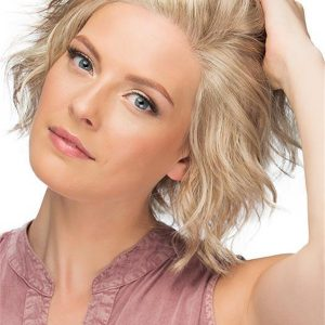 Short Wynter Synthetic Lace Front Wig Rooted For Women