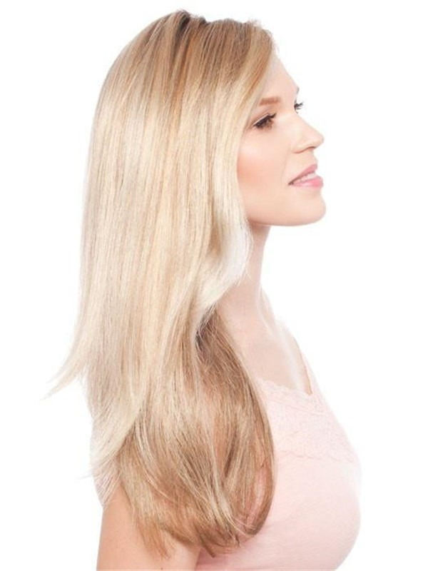 Long Zara Synthetic Lace Front Wig Rooted For Women