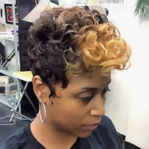 Chic Women Natural Short Curly Basic Cap Synthetic Wig