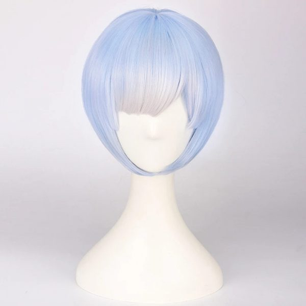 Low Price Red Short Straight Basic Cap Synthetic For Women Wig