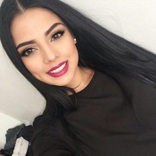 Popular Women Long Straight Basic Cap Synthetic Wig